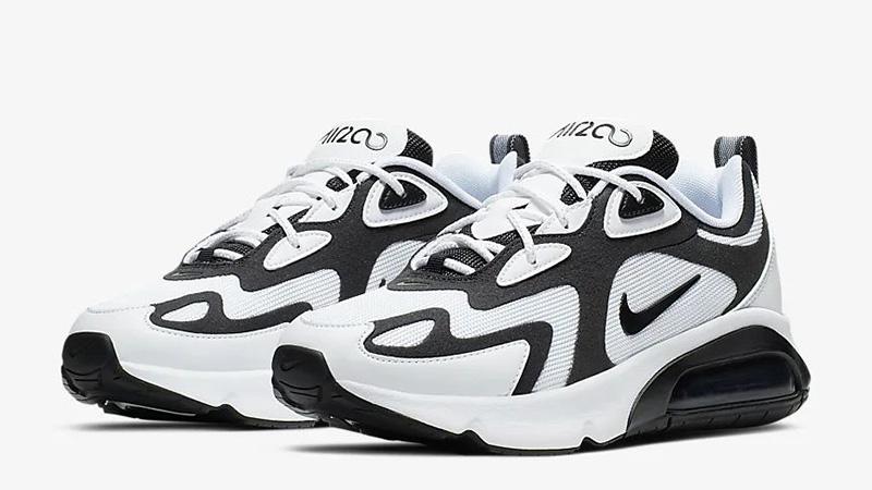 Nike Air Max 200 White Black | AT6175 104