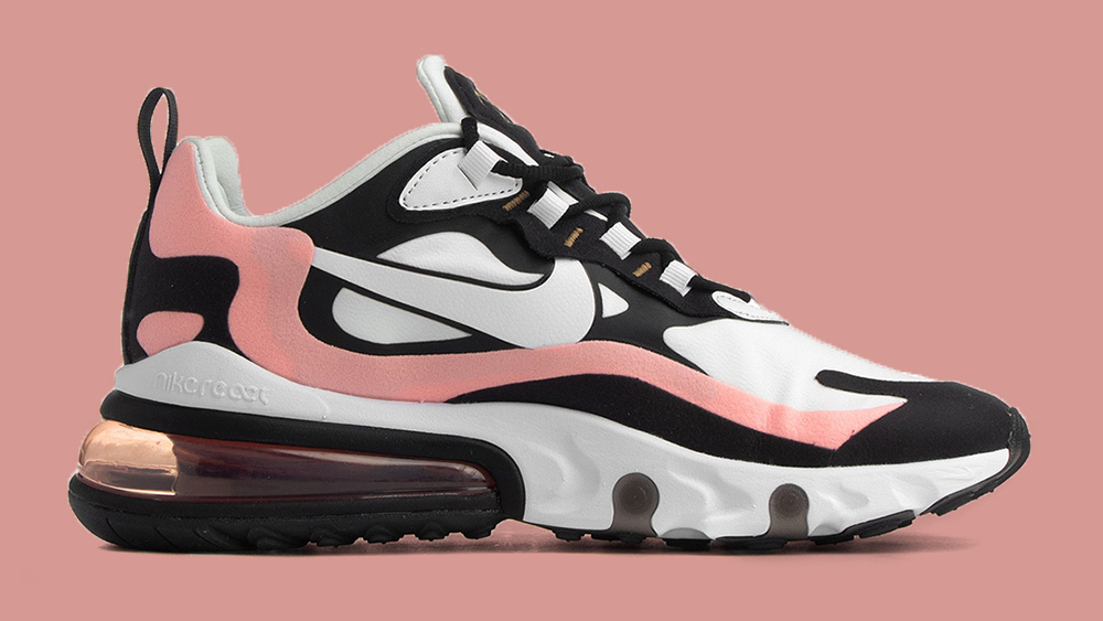 The Nike Air Max 270 React Gets A Bleached Coral Update ...