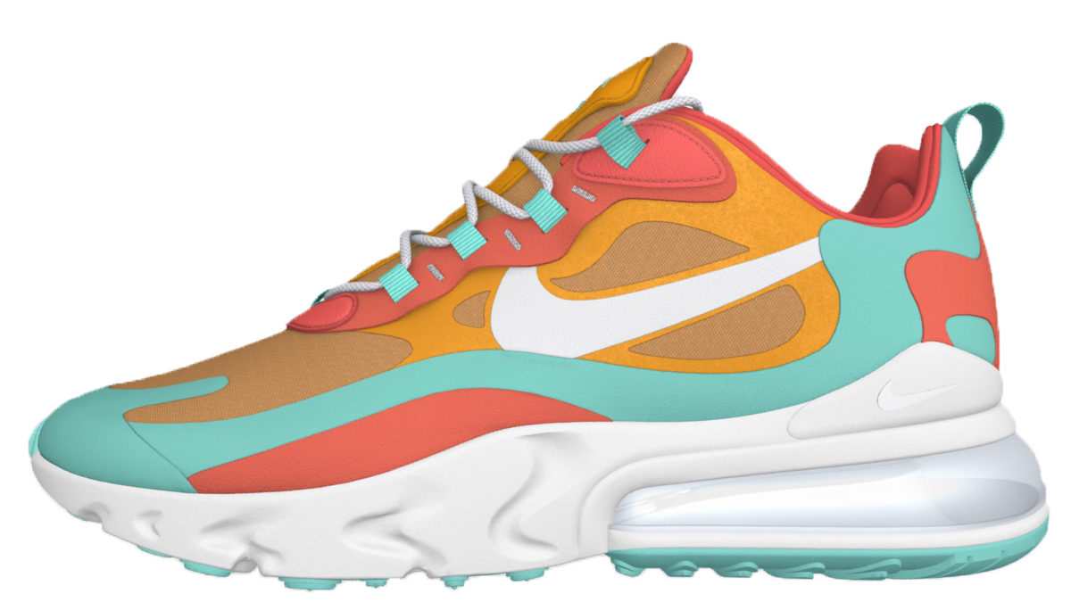 Nike Air Max 270 React 'By You' Customisable
