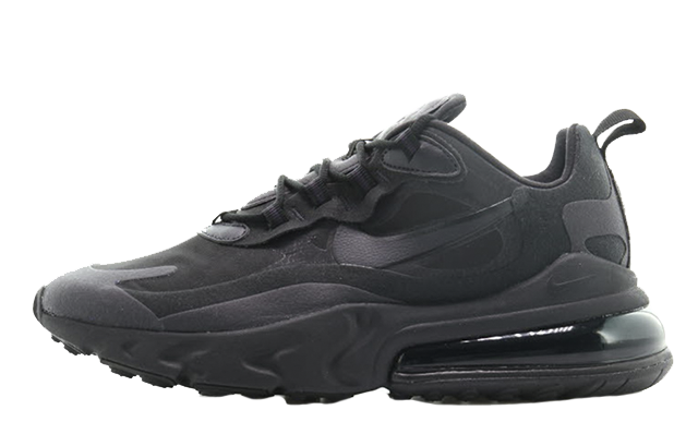 Nike Air Max 270 React Triple Black AO4971-003