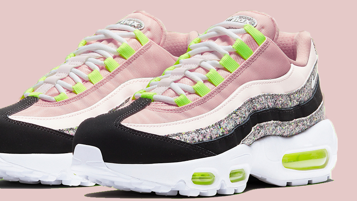 Nike Air Max 95 Glitter front faeture