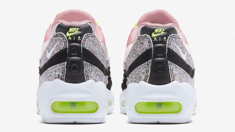 Nike Air Max 95 Pink Glitter 918413-006 back thumbnail image