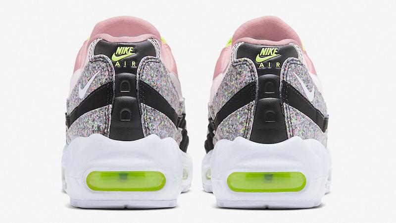 Nike Air Max 95 Pink Glitter 918413-006 back