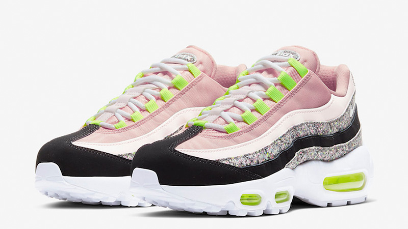 Nike Air Max 95 Pink Glitter 918413-006 front