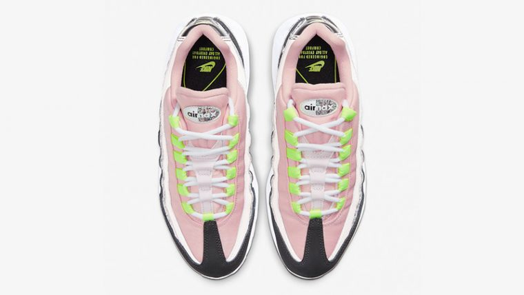 Nike Air Max 95 Pink Glitter 918413-006 middle thumbnail image