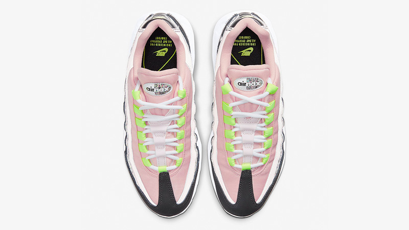 Nike Air Max 95 Pink Glitter 918413-006 middle