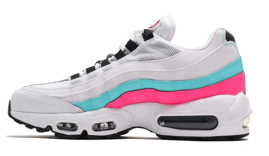 Nike Air Max 95 South Beach Pink White