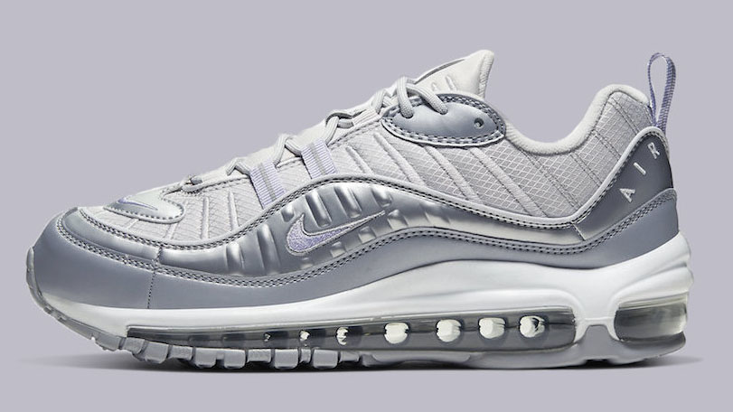 new styles e2bc0 9e09f The Nike Air Max 98 Gets A Metallic Overhaul | Upcoming ...