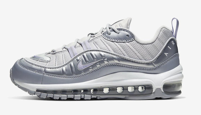 new styles 51adc b1665 The Nike Air Max 98 Gets A Metallic Overhaul | Upcoming ...