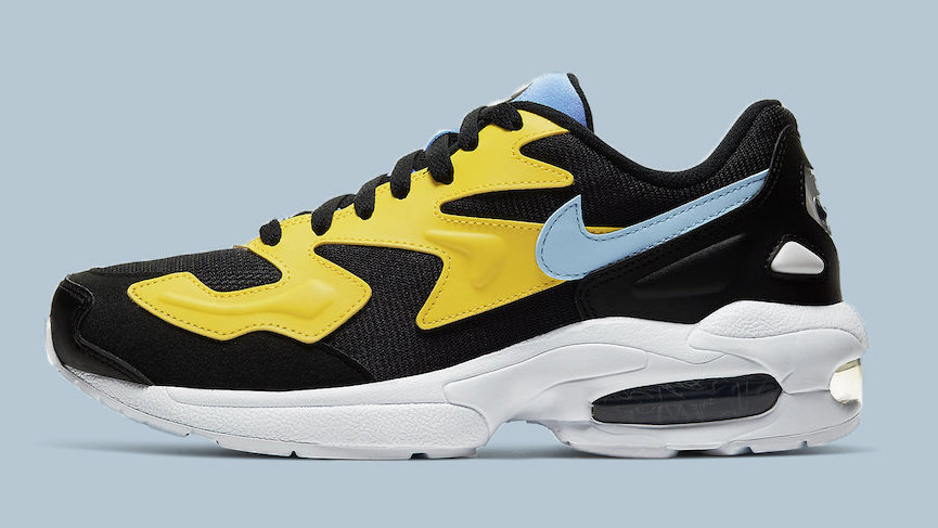 Nike Air Max2 Light Black Yellow
