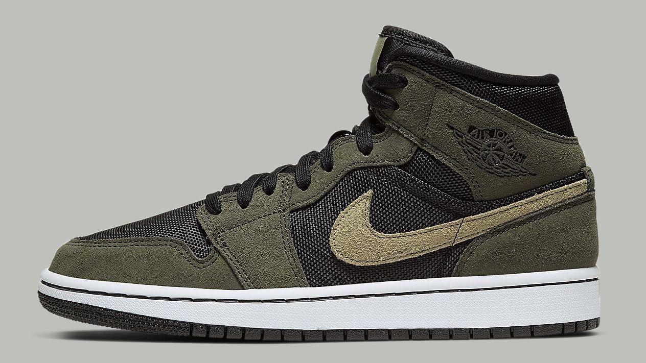 size 7 innovative design finest selection Khaki Hues Give This Nike Air Jordan 1 A Utility Vibe ...