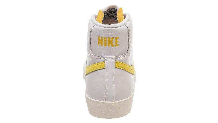 Nike Blazer Mid 77 Yellow White 2 heel thumbnail image