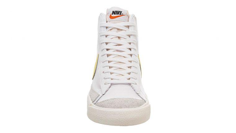 Nike Blazer Mid 77 Yellow White 2 front thumbnail image
