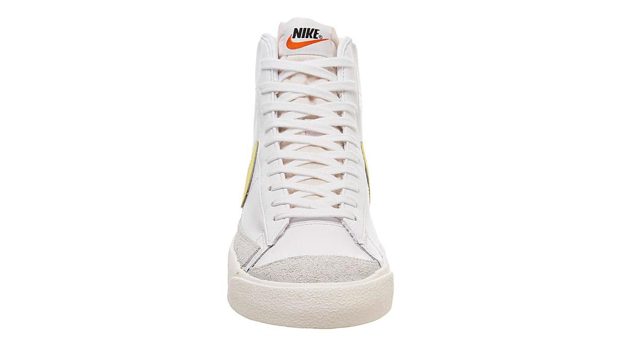 Nike Blazer Mid 77 Yellow White 2 front