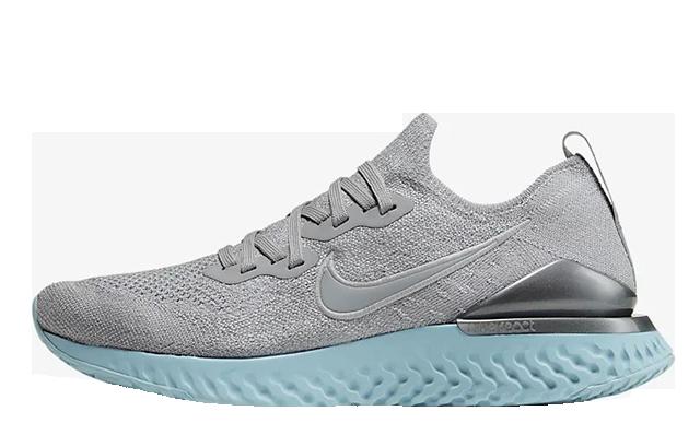 Nike Epic React Flyknit 2 Grey Ocean Bliss BQ8927-007
