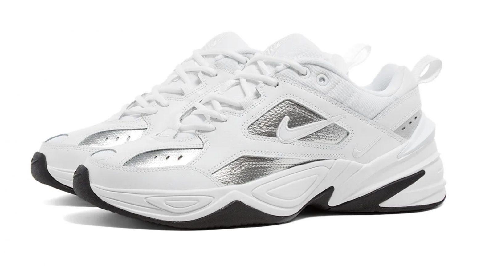Nike M2K Tekno Essential White Silver | CJ9583-100