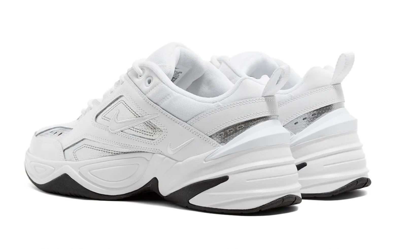 Nike M2K Tekno Essential White Silver | CJ9583-100heel