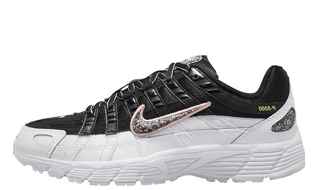 Nike P-6000 SE White Black CJ9585-001