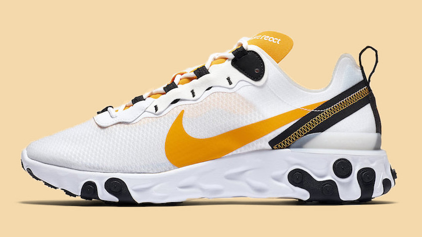 Nike ReactElement 55 University Gold