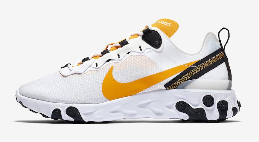 Nike React Element 55 University Gold side 2