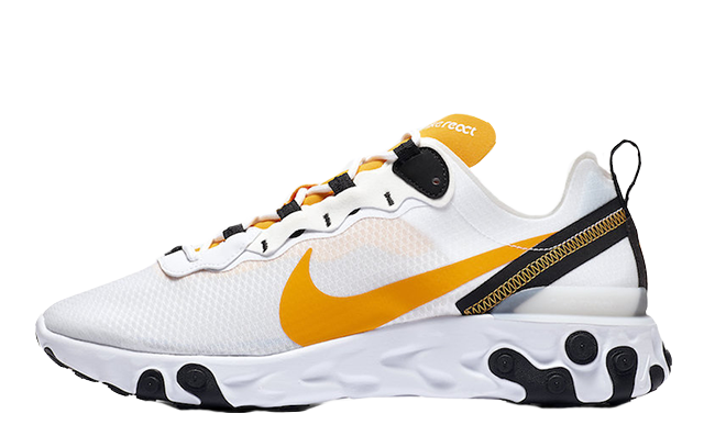uk cheap sale best sale multiple colors Nike React Element 55 University Gold