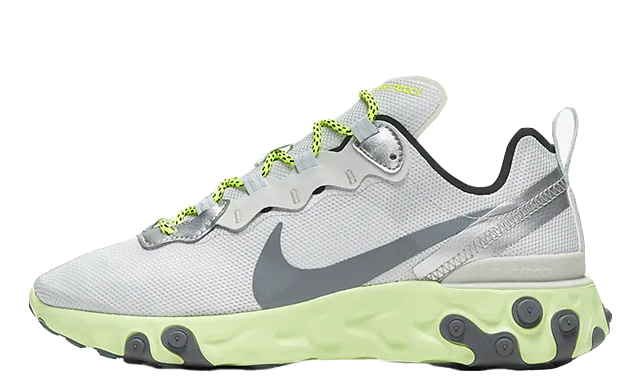 Nike React Element 55Grey Volt CT2546-001