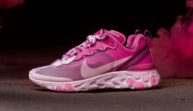 Nike React Element 87 Pink