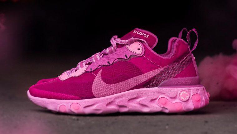 Nike React Element 87 Pink Pink