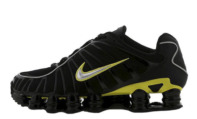 Nike Shox TL Black Yellow