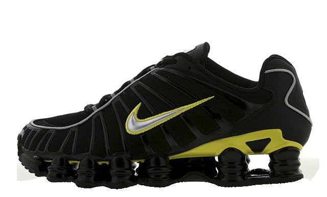 Nike Shox TL Black Yellow