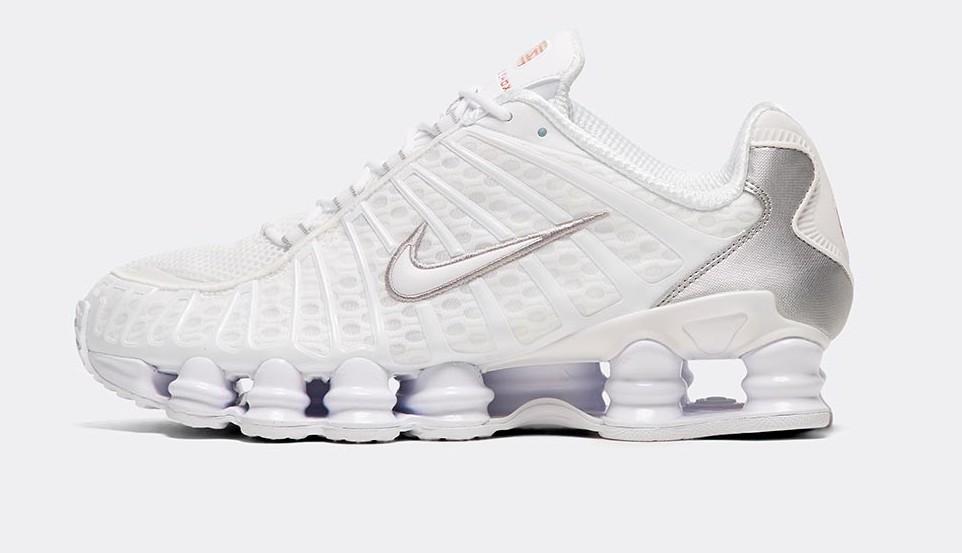 Nike Shox TL White.