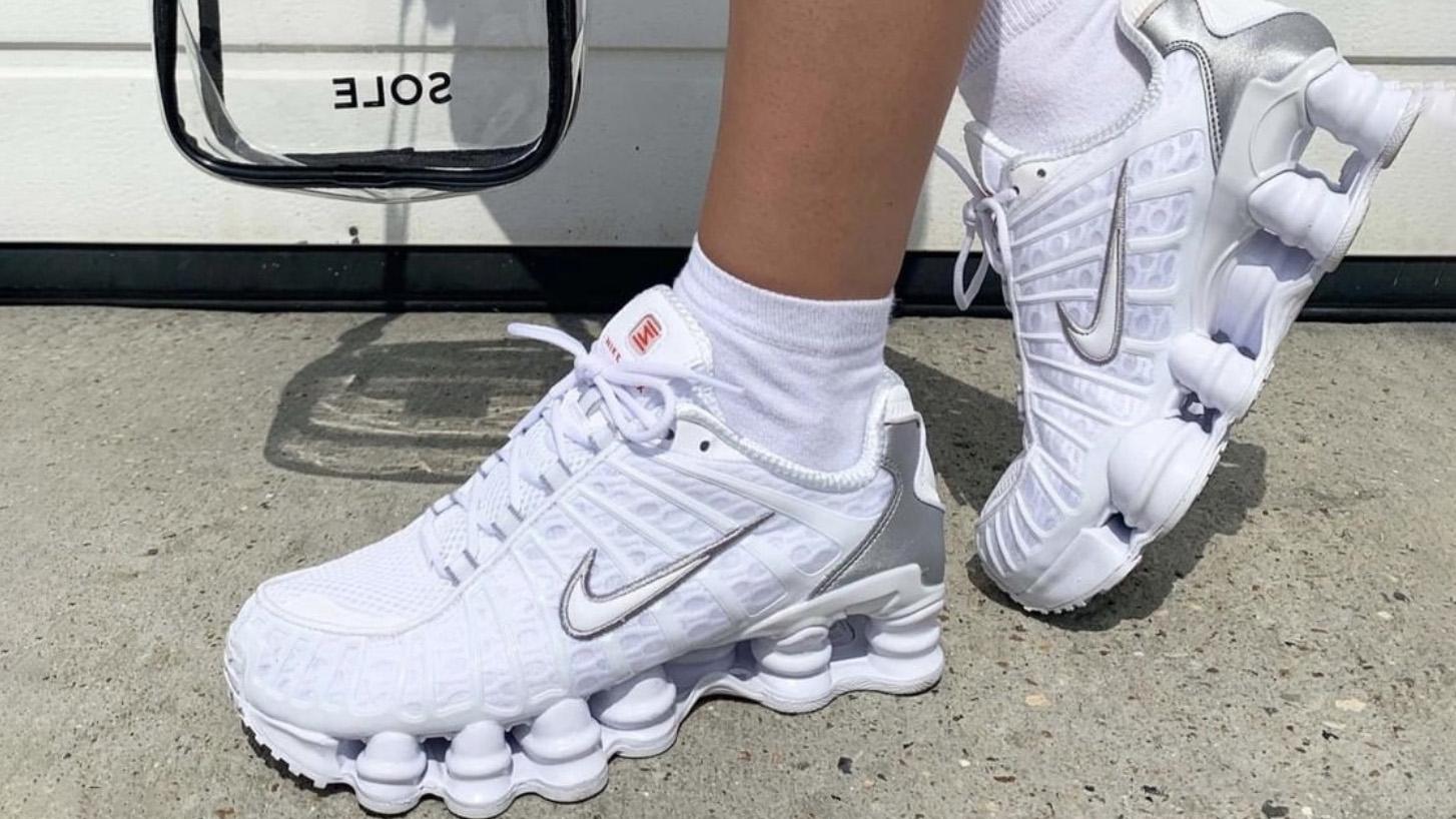 Nike Shox TL White