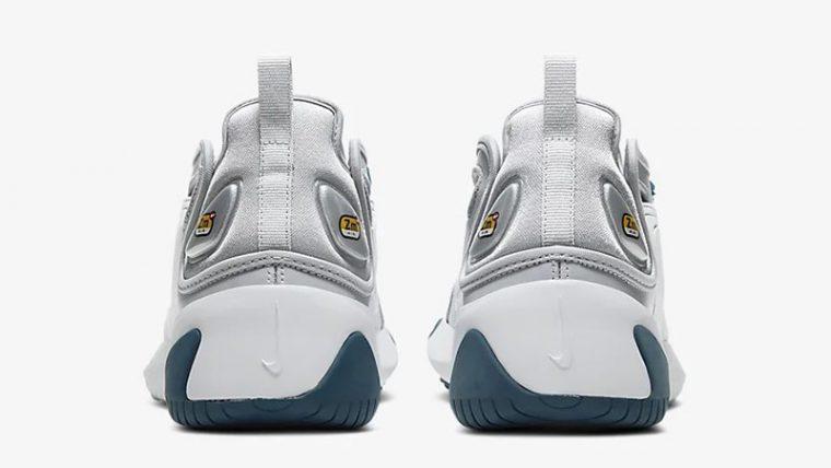 Nike Zoom 2K Grey White AO0354-004 back thumbnail image