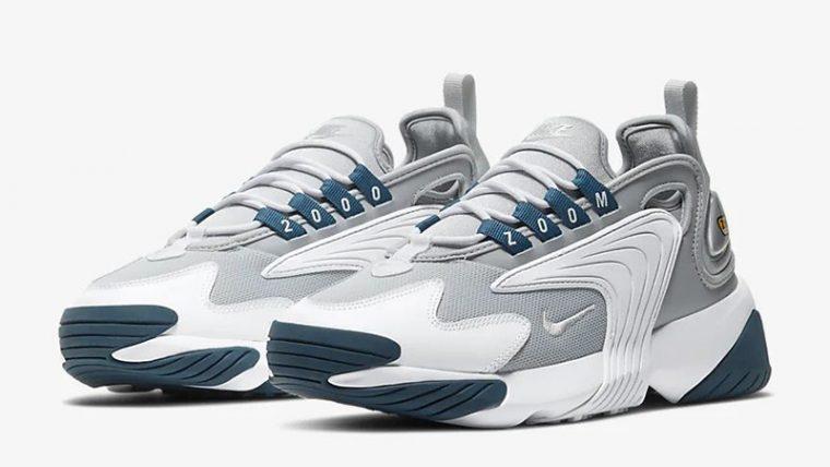 Nike Zoom 2K Grey White AO0354-004 front thumbnail image