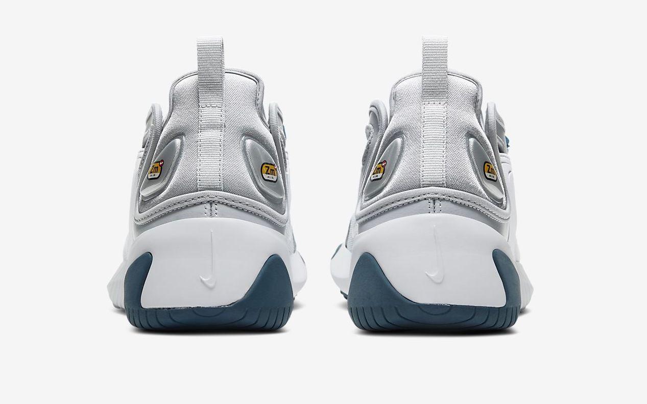 Nike Zoom 2K Metallic Blue Force back