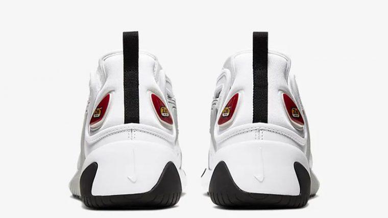 Nike Zoom 2K White Red AO0354-107 back thumbnail image