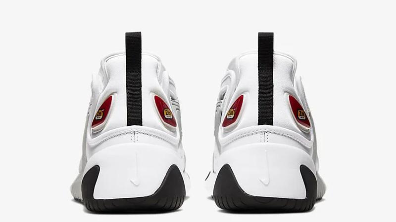 Nike Zoom 2K White Red AO0354-107 back