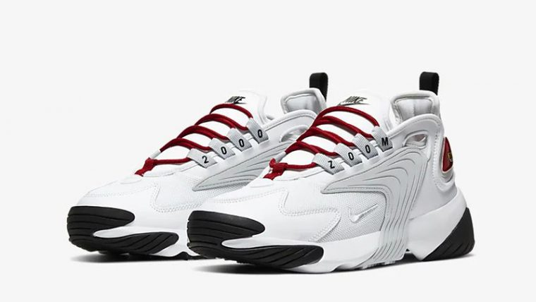 Nike Zoom 2K White Red AO0354-107 front thumbnail image