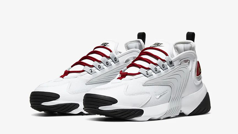 Nike Zoom 2K White Red AO0354-107 front