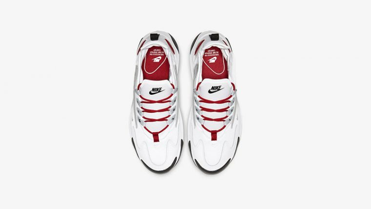 Nike Zoom 2K White Red AO0354-107 middle thumbnail image