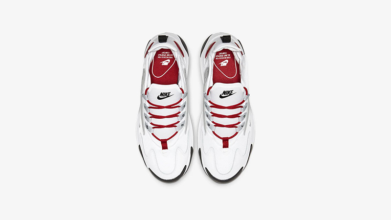 Nike Zoom 2K White Red AO0354-107 middle