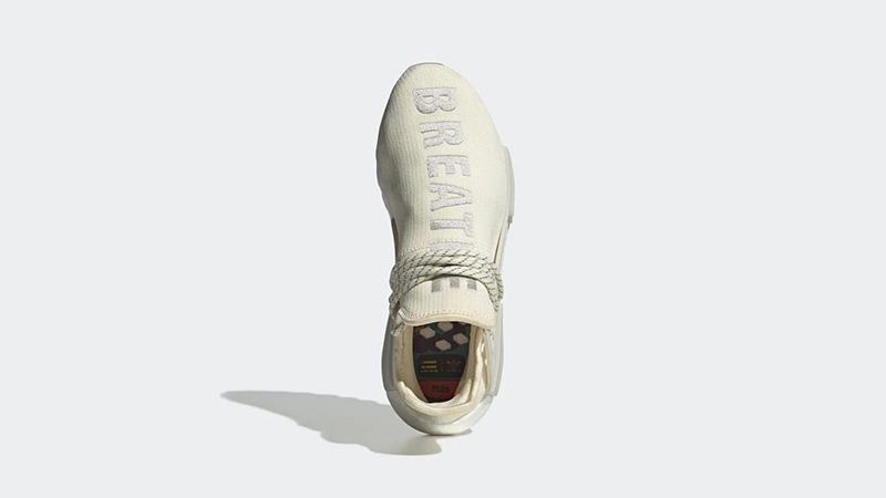 Pharrell x adidas Hu NMD Gum Pack Cream | EG7737 ABOVE