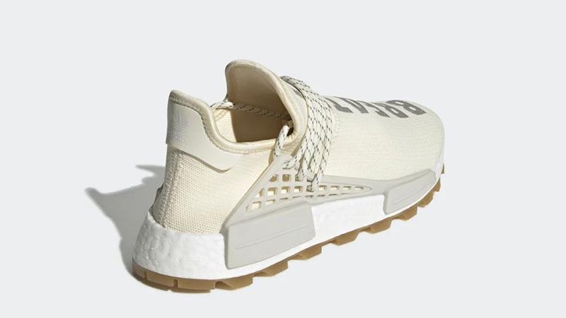 Pharrell x adidas Hu NMD Gum Pack Cream | EG7737 HEEL