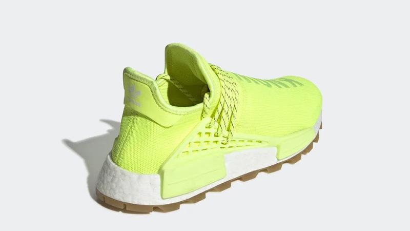 Pharrell x adidas NMD Hu Know Soul Volt | EF2335 heel