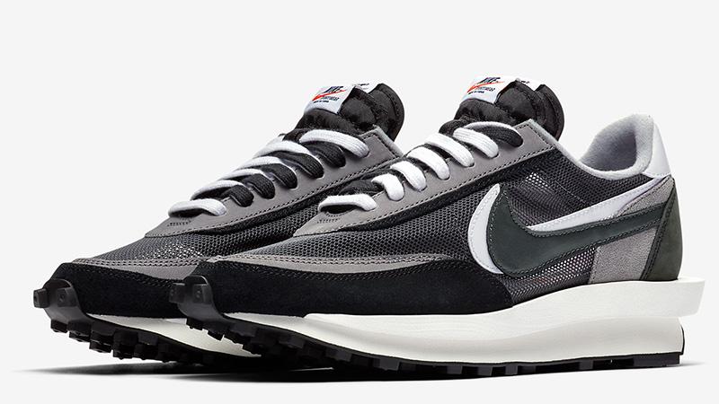 Sacai x Nike LDV Waffle Black | BV0073