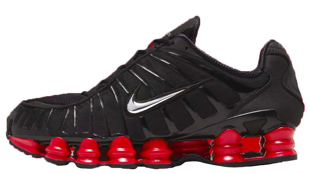 pretty nice e898a e935d Skepta x Nike Shox TL Black Red