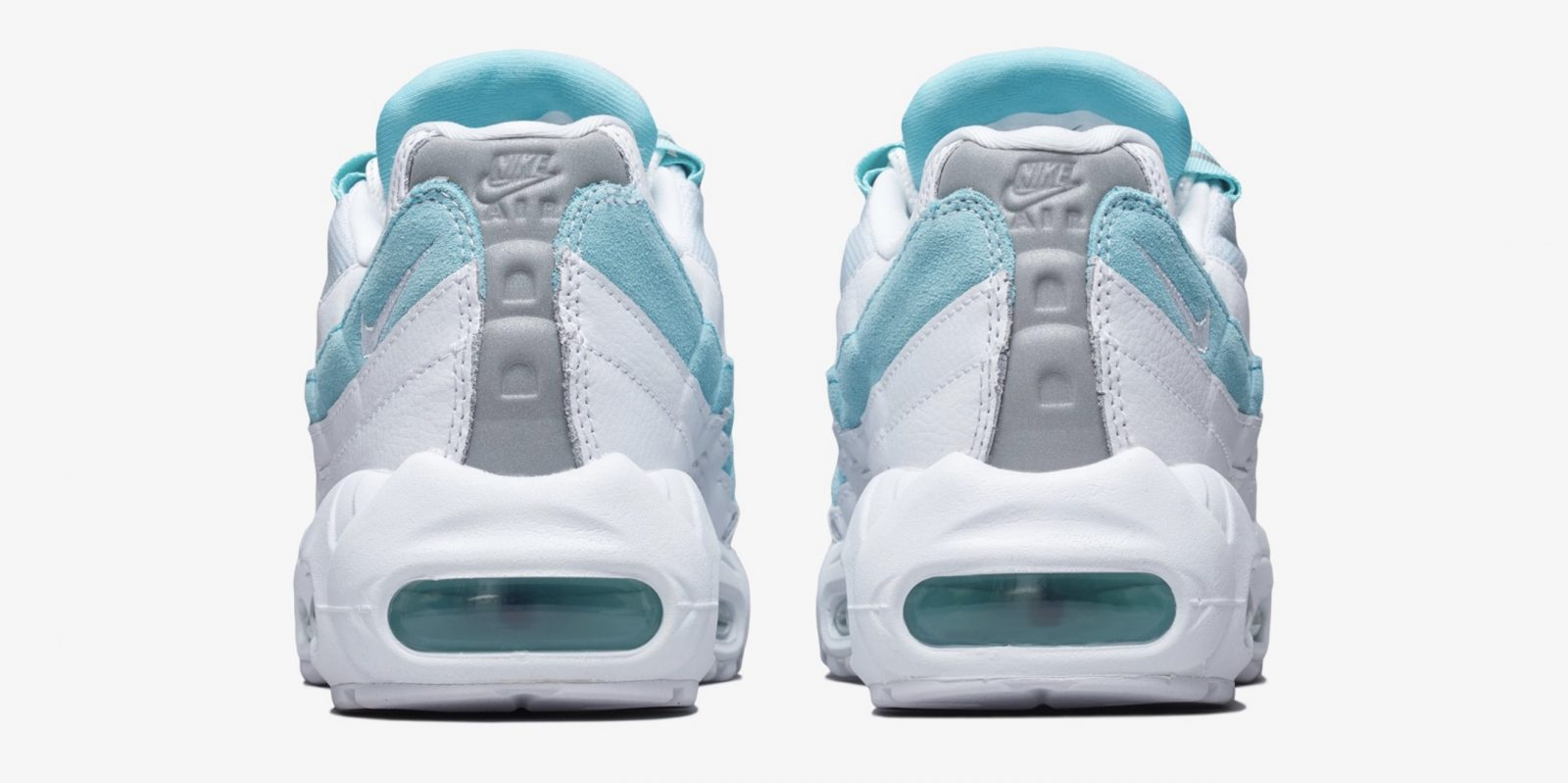 The Waves On This Nike Air Max 95 Look Like Actual Waves In 'Light Aqua'