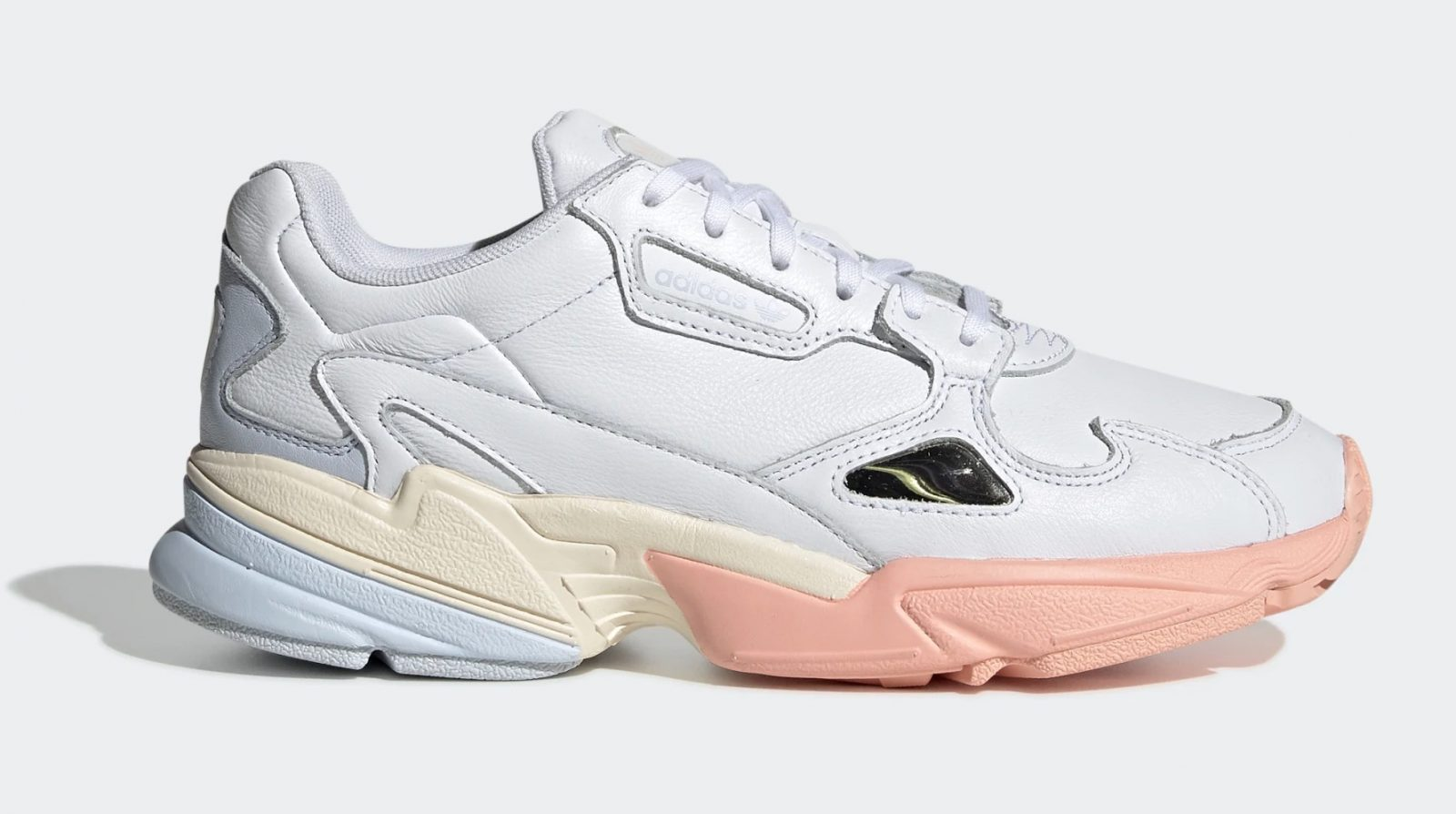 We Are Loving The Pastel Hues On This New adidas Falcon side