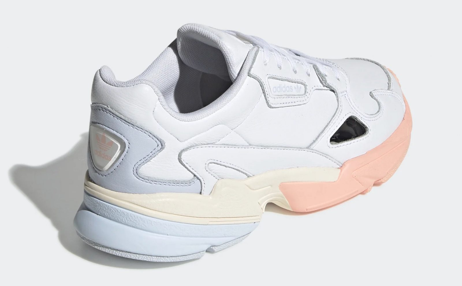 We Are Loving The Pastel Hues On This New adidas Falcon heel