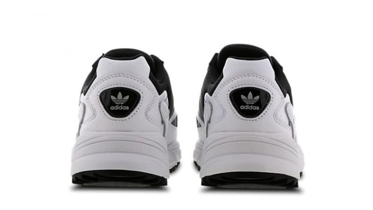 adidas Falcon White Black back thumbnail image